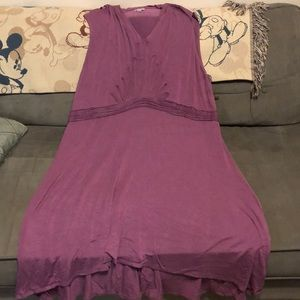 Mauve spandex  dress